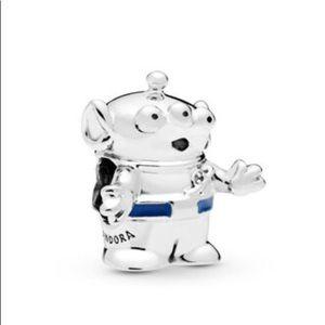 New Pandora Disney Pixar Toy Story Alien Charm
